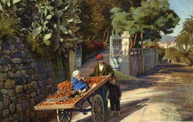 Jardins d'agrumes à Sanremo